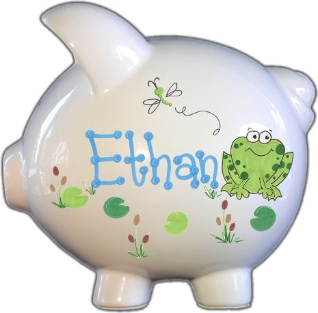 Froggy Design Piggy Bank