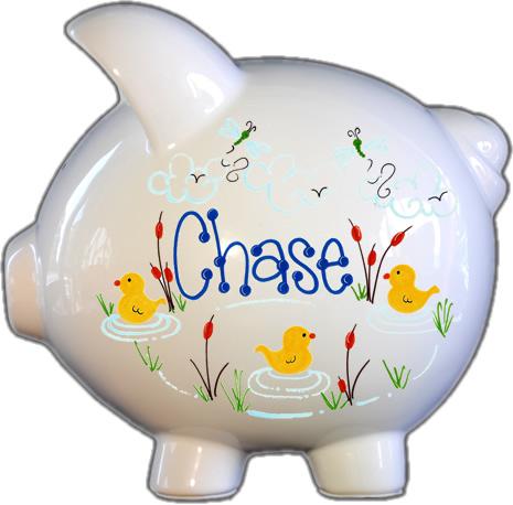 Duckies Design Piggy Bank