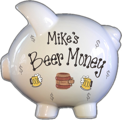 Beer Money Piggy Bank