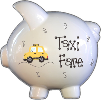 Taxi Fare Piggy Bank