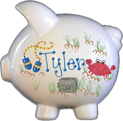 Crabby Design Piggy Bank