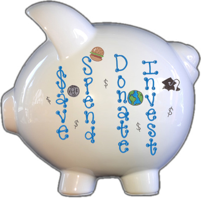 Savings Fund Piggy Bank