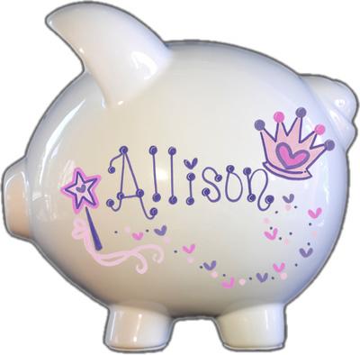 Princess Design Piggy Bank