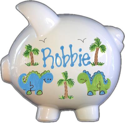 Dinosaur Design Piggy Bank