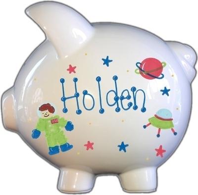Astronaut Piggy Bank