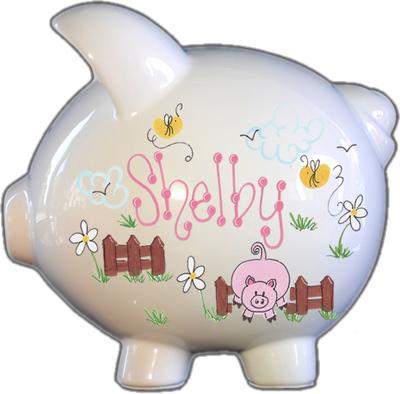 Lil Piggy Design Piggy Bank