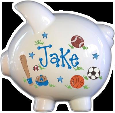 Custom Large Piggy Bank