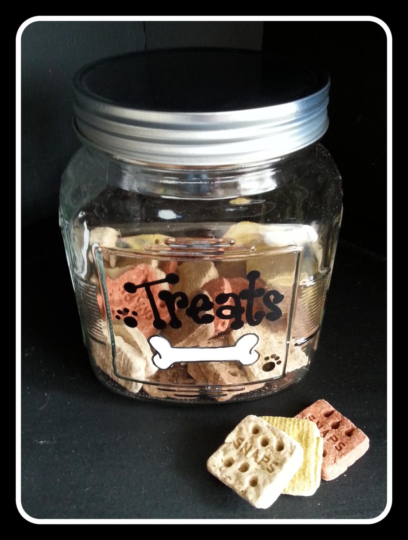 Doggy Treats Jar