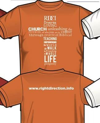 RDCI T-Shirt Orange