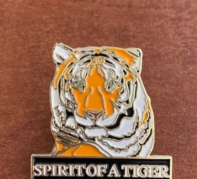 Spirit of a Tiger Enamel Pin