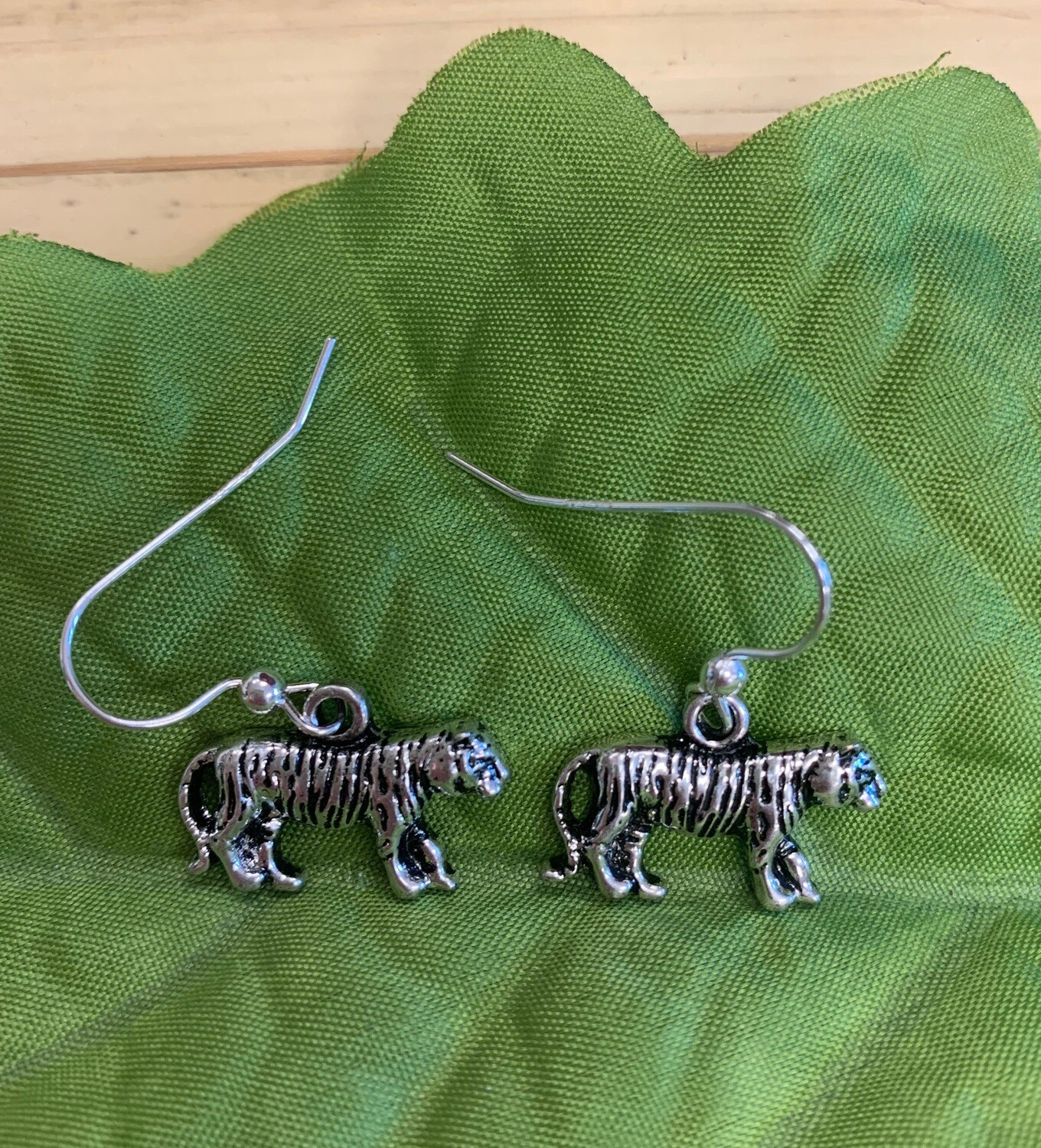 Full Body Tiger Earrings
