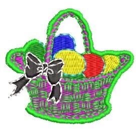 Easter Eggs Basket