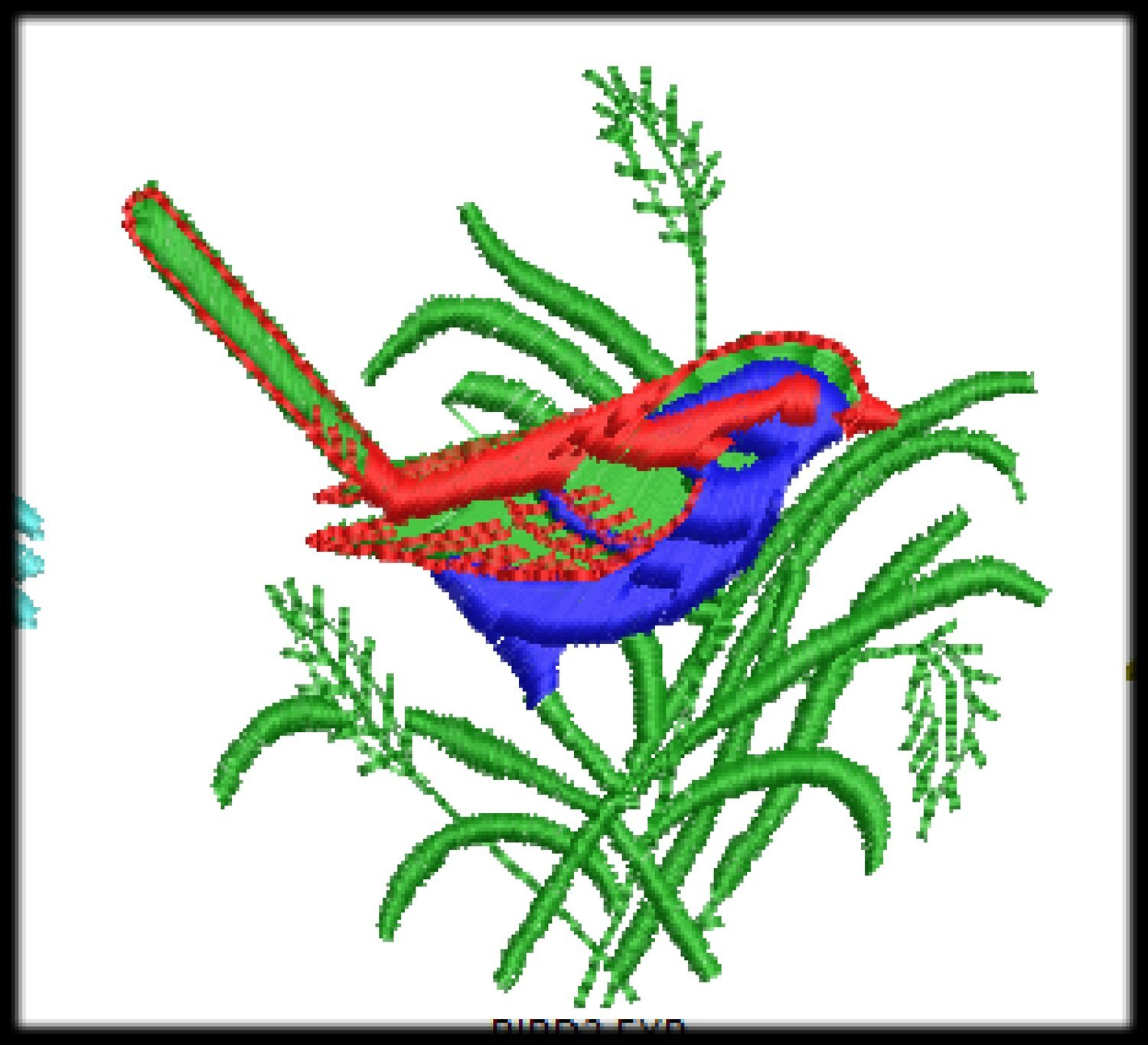 54 Birds Embroidery File Digitized Designs to run any Embroidery Machines Format