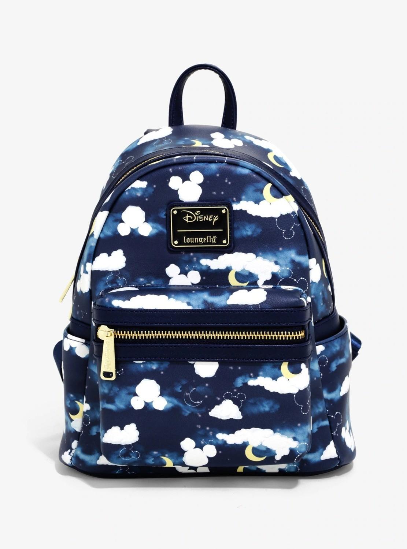 Bolsa Mochila Mickey Azul E22