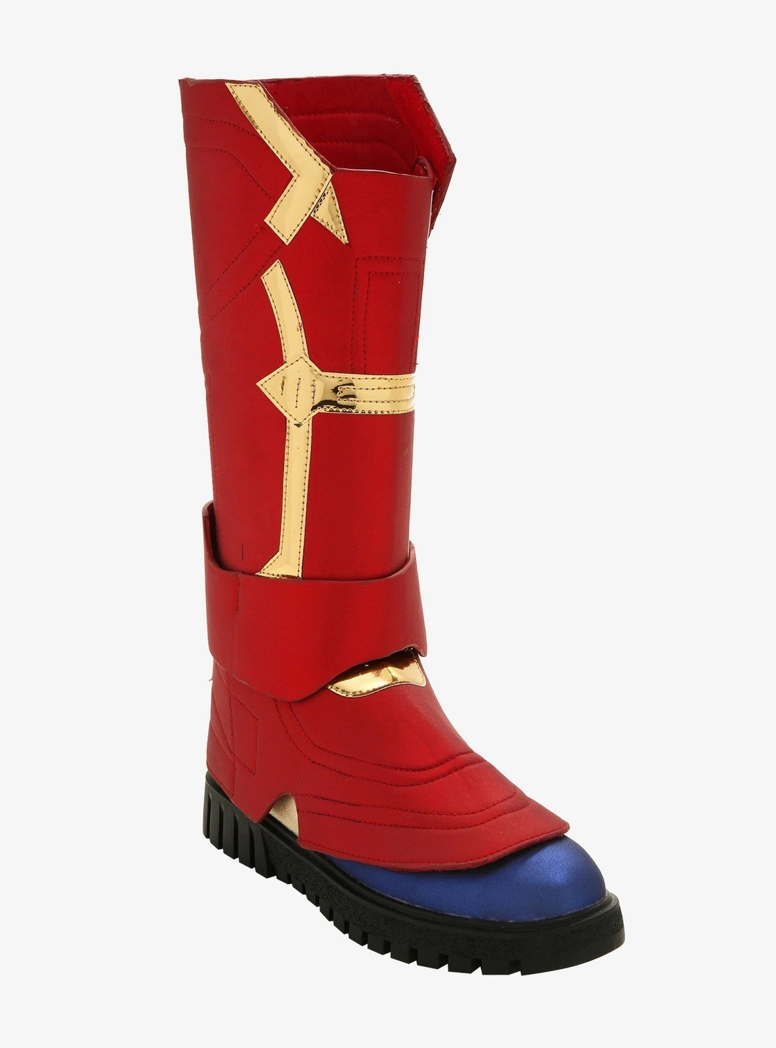 Botas Cosplay Captain Marvel