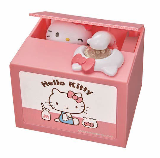 Alcancia Hello Kitty Rosa