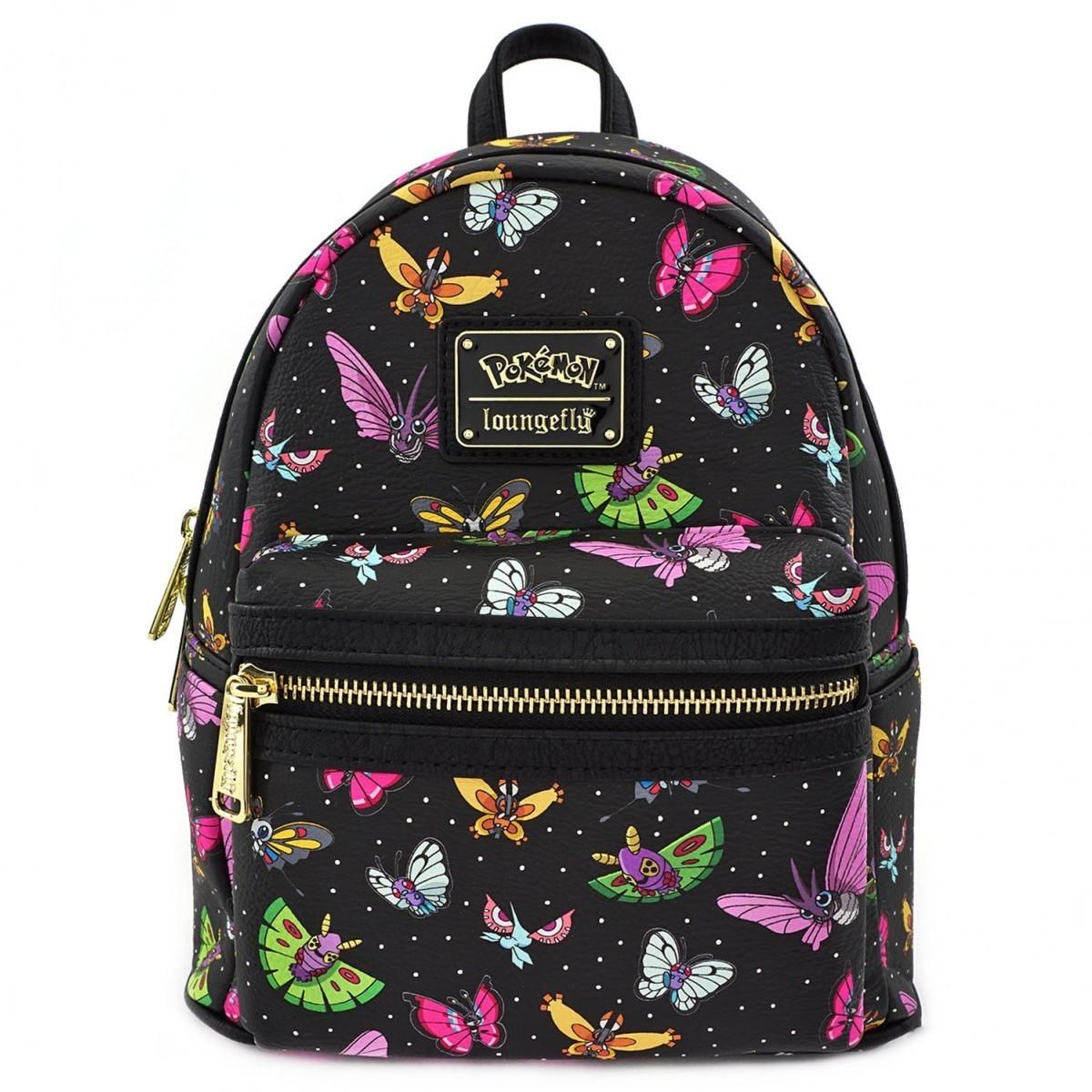 Bolsa Mochila Pokemon Mariposas