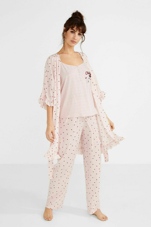 Pijama Minnie Mouse Cherie