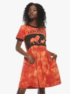 Vestido Rey Leon Naranja