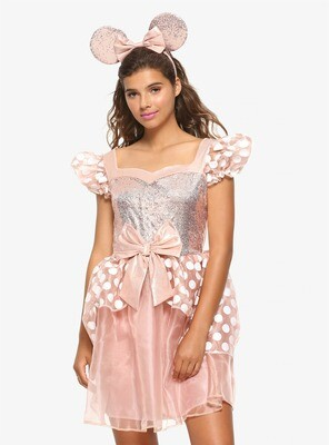 Vestido Cosplay Minnie Mouse EX