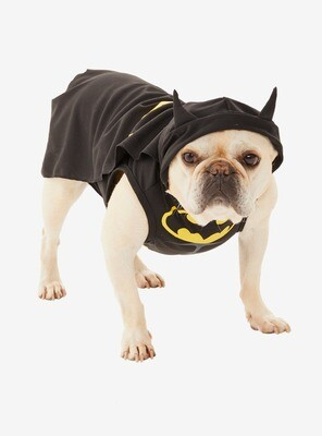 Cosplay Perrito Batman XS