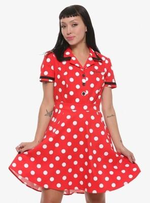 Vestido Minnie Mouse Retro