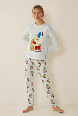 Pants Pijama Simpson M Navidad