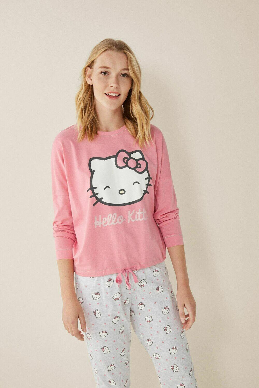 Pants Pijama Rosa Largo Hello Kitty