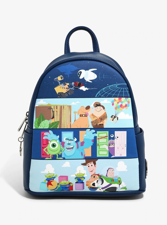 Bolsa Mochila Pixar Disney Peliculas