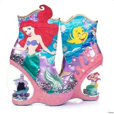 Botas Tacones La Sirenita Ariel
