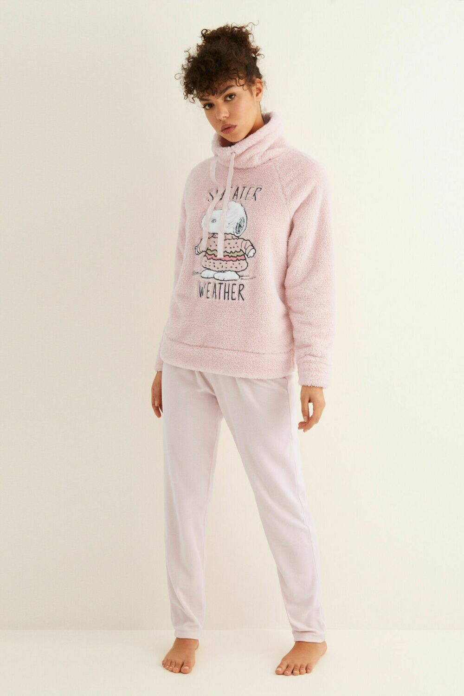 Pants Pijama Snoopy Rosa