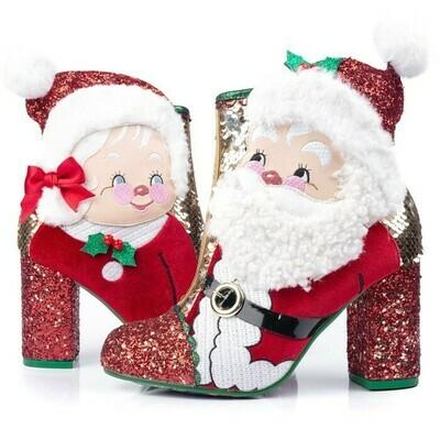 Botas Tacones Santa Navidad 2019