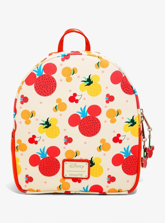 Bolsa Mochila Mickey Mouse Frutas