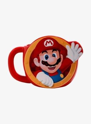 Taza Super Mario Roja