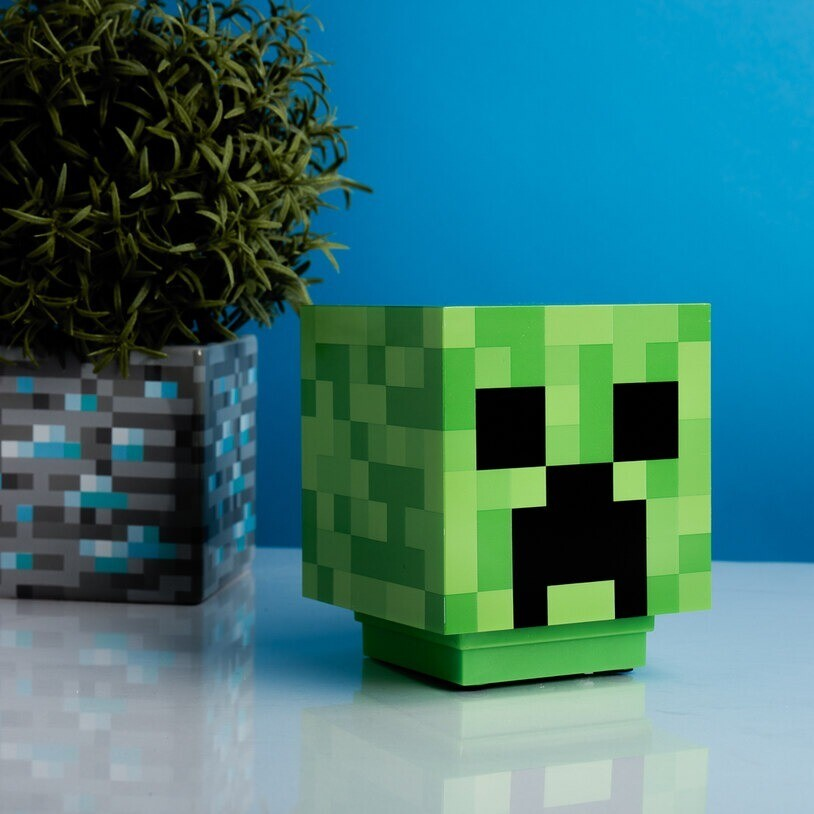 Lampara Minecraft Creeper