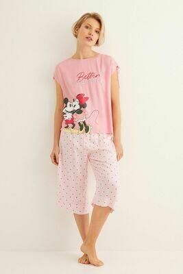 Pants Pijama Mickey y Minnie AD00