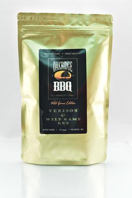 Venison & Wild Game Rub - Oakridge BBQ