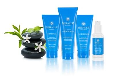 Miracle Anti-Aging Hair Care Set For Hair Growth, Thinning Hair and Hair Repair