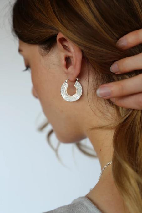 Tutti & Co Cinder Earrings Silver