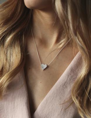 Tutti & Co Admire Necklace Silver