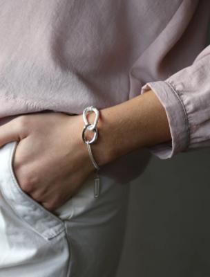 Tutti & Co Fusion Bracelet Silver