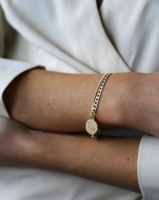 Tutti & Co Surface Bracelet Gold