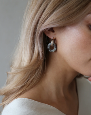 Tutti & Co Tropic Earrings Silver