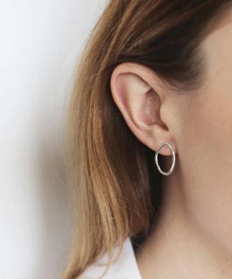 Tutti & Co Calm Earrings Silver