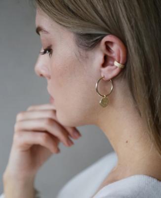 Tutti & Co Island Earrings Gold