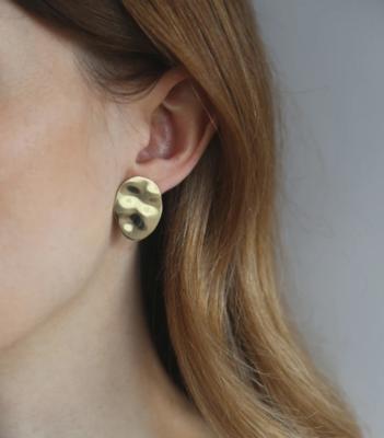 Tutti & Co Water Earrings Gold