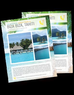 Flyers or Brochures printed in Full-color