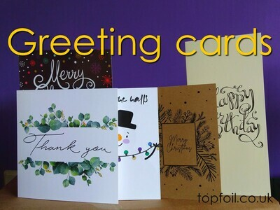 Greeting Cards & Folded Invites