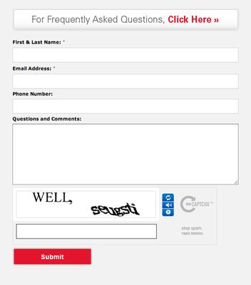 Custom Contact/User Form