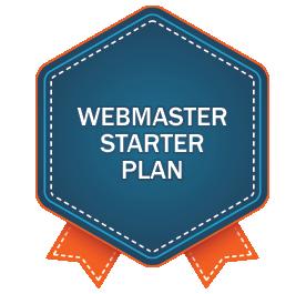 Webmaster Starter Plan